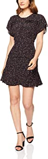 Oxford Women's Ava Printed Pintuck Dress