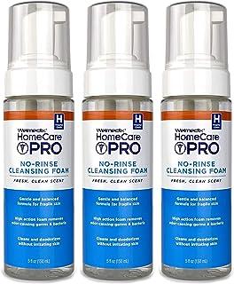 فوم تمیز کننده شستشو بدن شستشو توسط Welmedix HomeCare PRO - 3 در 1 شستشوی بدن ، شامپو و تمیزکننده شخصی - شستشو ، آرام و مرطوب کننده بالغ ، پوست حساس (3 بطری)