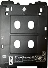 Inkjet PVC Card Tray for Canon PIXMA TS82xx and TS95xx Series Printers (Canon MP/Multi-Purpose Tray Printers) by Brainstorm ID