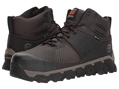 Timberland PRO Ridgework Composite Safety Toe Waterproof Mid (Brown) Men