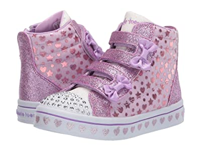 SKECHERS KIDS Twinkle Toes Twi-Lites Heather 314040N (Toddler/Little Kid) (Lavender) Girl