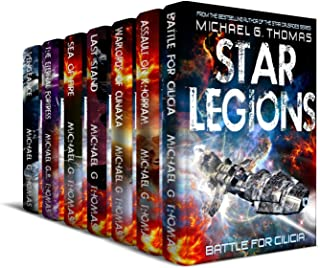 Star Legions: The Ten Thousand Complete Series Box Set (Books 1 - 7)