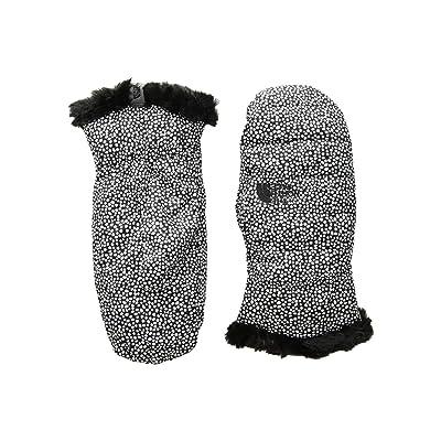 The North Face Kids Reversible Mossbud Swirl Mitt (Big Kids) (TNF White Mini Dot Print/TNF Black) Extreme Cold Weather Gloves