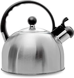 2.5 Liter Whistling Tea Kettle – Modern Stainless Steel Whistling Tea Pot for..