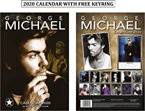 George Michael Unofficial Calendar 2020 + George Michael Keychain