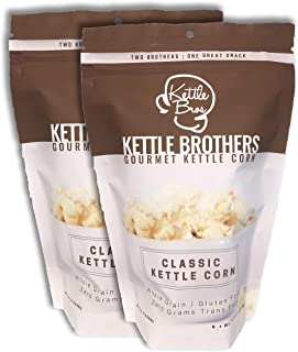 Classic Kettle Corn Popcorn - Kettle Brothers Gourmet Kettle Corn - 2 Pack