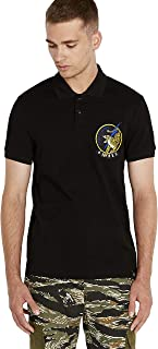 Avirex Men's Patched Polo