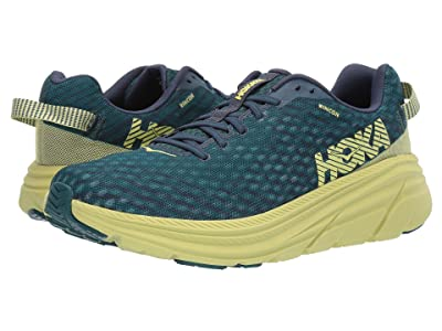 Hoka One One Rincon (Deep Teal/Lime Sherbet) Men