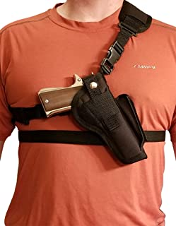 Silverhorse Holsters Chest/Shoulder Gun Holster | Fits Rock Island Armory 1911 Models with a 3.5