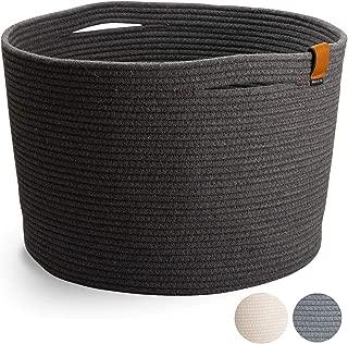 DENJA & CO Extra Large Blanket Basket (21