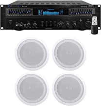 Technical Pro RX113 1500w Home Theater Amplifier Receiver+4 8