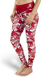 Forever Collectibles NCAA Womens Geometric Print Leggings, Multiple Teams