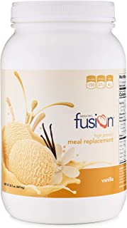 Bariatric Fusion Meal Replacement Protein 21 Serving Tub French Vanilla for Gastric Bypass & Sleeve Gastrectomy