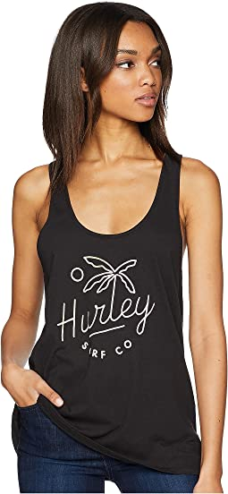 Palm Script Perfect Tank Top