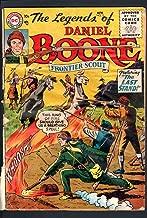 THE LEGENDS OF DANIEL BOONE #5-1956-DC-FRONTIER WILD BOY-SCARCE ISSUE-FAIR FR