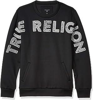 True Religion Men's Pullover Crewneck Sweatshirt Shirt