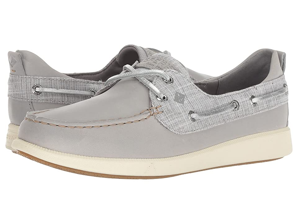 Sperry Oasis Dock Prints (Grey Metallic) Women