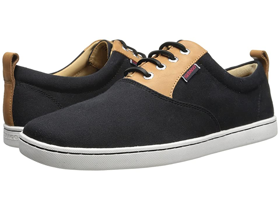 Sebago Ryde Lace Up (Black Canvas) Men
