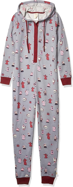 Munki Women's Sparkle Portland Mall Fleece Hooded Ranking TOP4 Onesie
