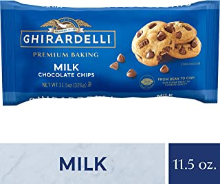 Ghirardelli Chocolate Baking Chips, Milk Chocolate, 11.5 oz., 6 Count