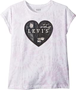 Levi's® Kids Rolled Sleeve Knit Tee (Toddler)