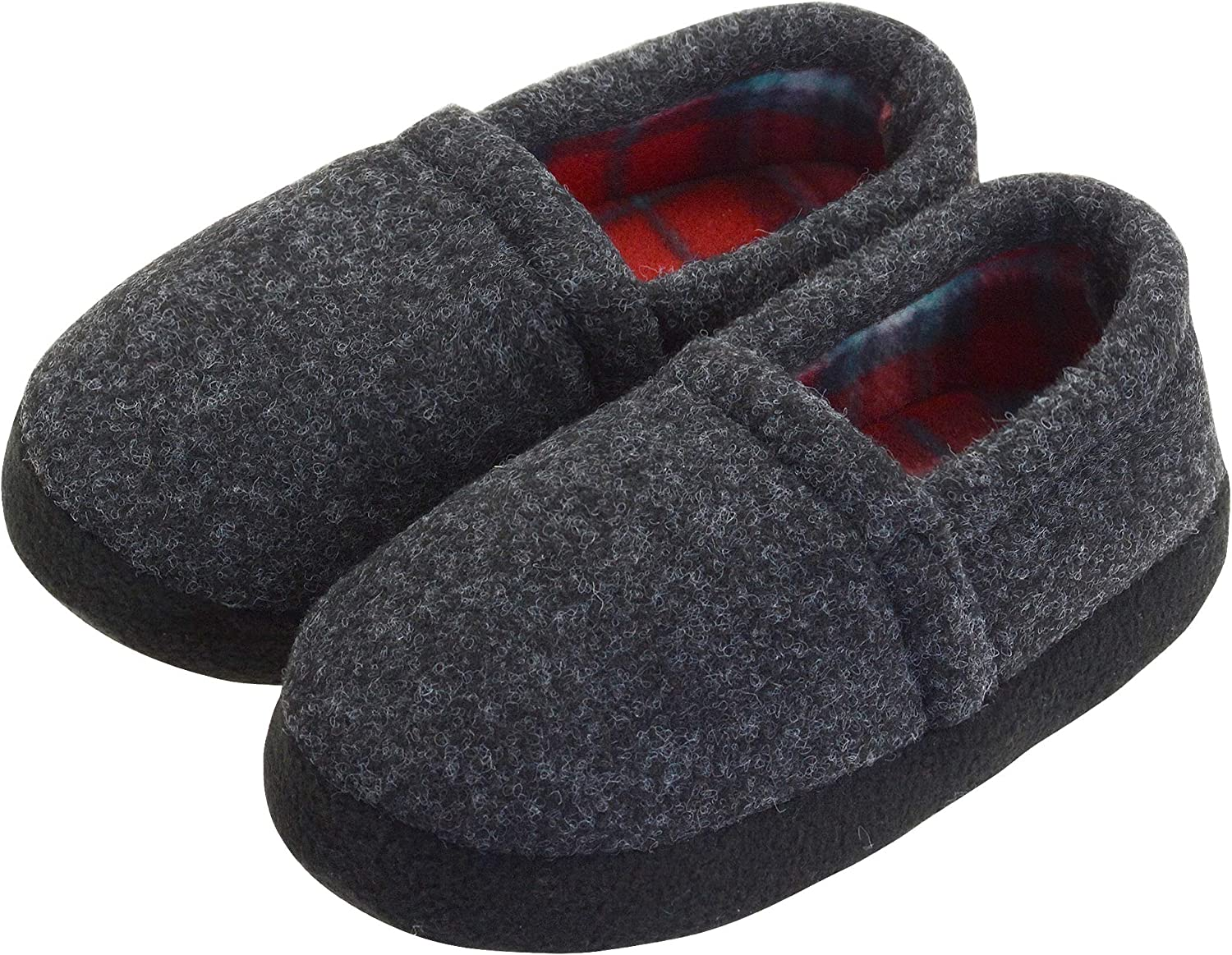 VLLy Slippers Choice for Boys New mail order Camo Slip-on House Comfy Shoes Warm
