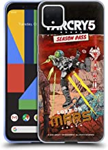Official Far Cry Lost On Mars 5 DLC Art Soft Gel Case Compatible for Google Pixel 4 XL
