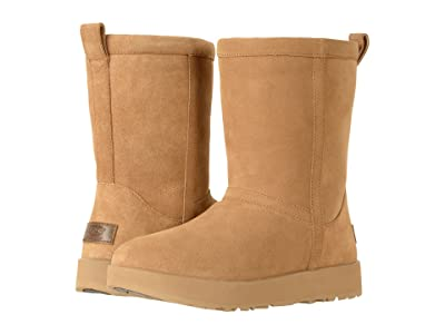 UGG Classic Short Waterproof (Chestnut) Women