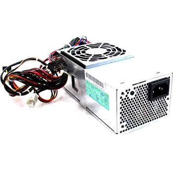 250W Watt PDF9N CVT4W Power Supply Unit PSU for Dell Inspiron 531s 570s 580s Studio 540s, Optiplex 390 7010 9010 Desktop DT Systems Compatible Part: T497G TFX0250D5W DPS-250AB-78 A F250AD-00 H250AD-01
