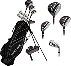 Precise M5 Teenager Complete Golf Set Includes Driver, Fairway, Hybrid, 7,9, PW, SW, Putter, Stand Bag, 3 HC`S Teen Ages 13-16 Right Hand