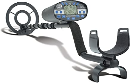 Bounty Hunter PL Time Ranger Metal Detector, Black