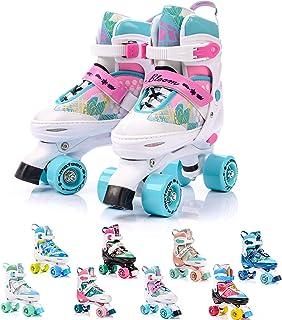 Patines 4 Ruedas Ajustable Disco Roler Skate Patines en
