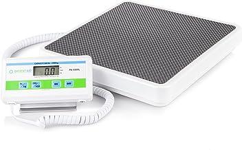 مقیاس طبقه پزشکی سنگین وزن پزشکی: مقیاس آسان دیجیتال و خواندن مقیاس بالا سلامت ، تناسب اندام و پزشک مقیاس قابل حمل با باتری و آداپتور برق - تنظیمات پوند و کیلوگرام - 550 پوند / 249 کیلوگرم محدودیت
