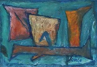 Marcel Janco Giclee Imprimir en Papel-Pinturas Famosas Arte Fino Póster-Reproducción Decoración de Pared(Composición dada) #XZZ