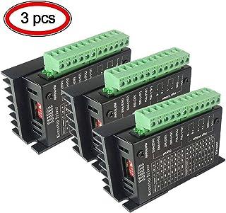 3PCS TB6600 CNC Controlador de Motor Paso a Paso 4A 9-42V 2/4 fase Hybrid Stepper Motor Driver para Impresora 3D/CNC