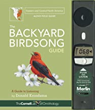 BACKYARD BIRDSONG GUIDE EASTERN AND CENT (cl)