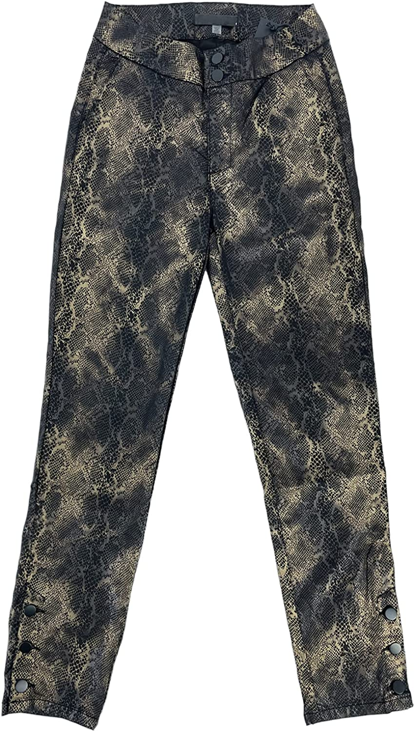 Casual Pants for Women High Waist Snake Skin Pants Printed Trousers for Ladies