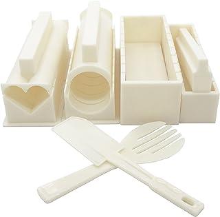 comprar comparacion Exzact EX-SM10 Kit de fabricación de Sushi Kit para Preparar el Sushi 10 Piezas/Molde de Rollo de arroz - 5 Formas únicas ...