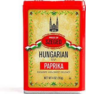 Szeged Sweet Paprika Seasoning Spice 4oz (Pack of 2)
