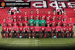 GB Eye, Manchester United, Team Photo 18-19, Maxi Poster