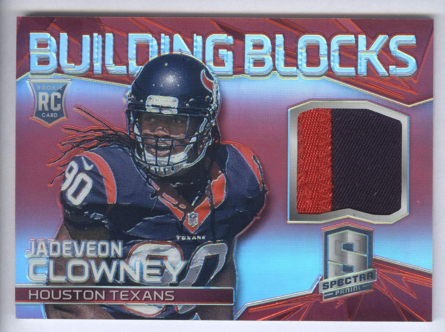 2014 Spectra Building Blocks Prizms 2 Jadeveon Color Clowney Red OFFicial Max 86% OFF store
