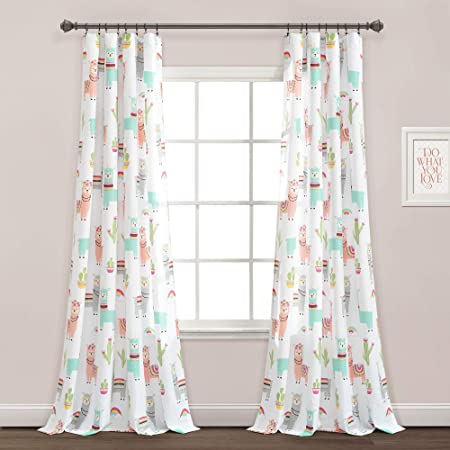 Save the Drama for your Llama Blackout Classroom Door Window Curtain