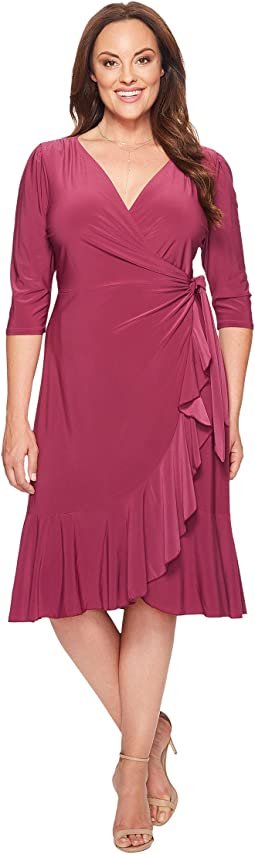Kiyonna - Whimsy Wrap Dress