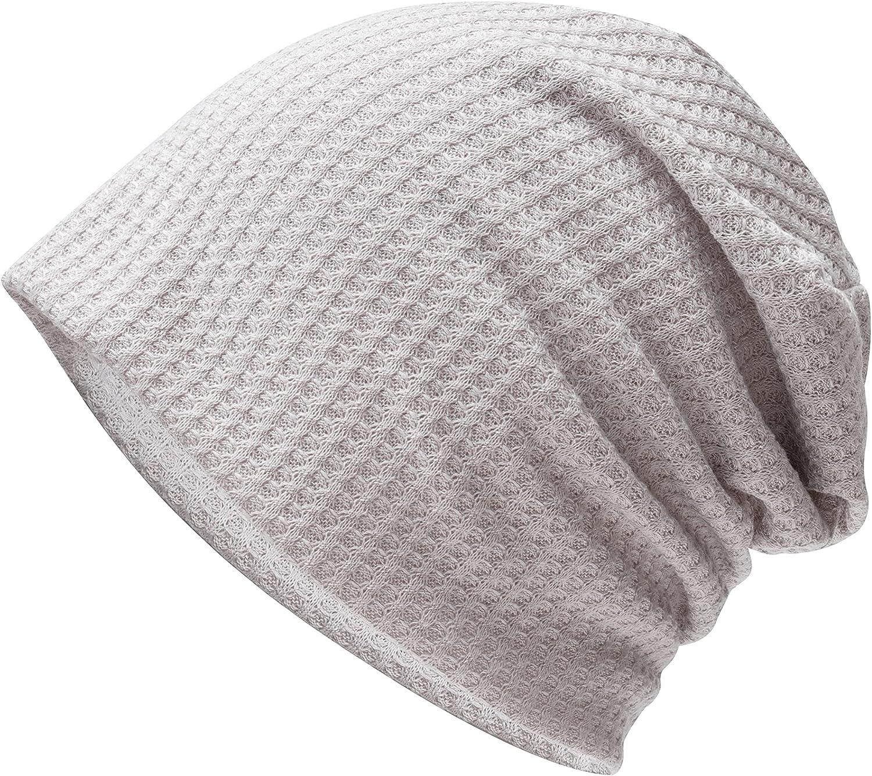 Slouchy Beanie Hats for Women Men Skull Cap Stylish Hip Pop Hat Cycling Training Headwear