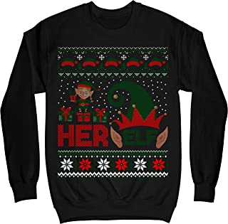 his and hers elf jumpers