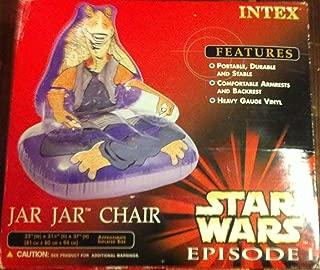 Star Wars Episode I Jar Jar Chair Vinyl Inflatable Chair