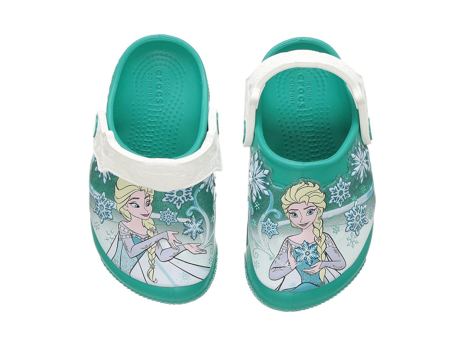 Crocs Kids Frozen™ Lights Clog (Toddler/Little Kid)Economical and quality shoes