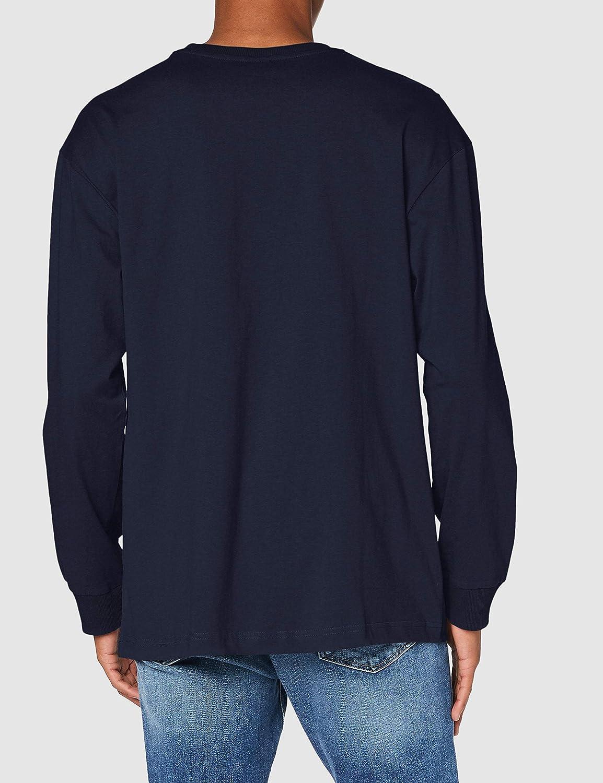 Urban Classics Hiking Patch LS Camiseta para Hombre
