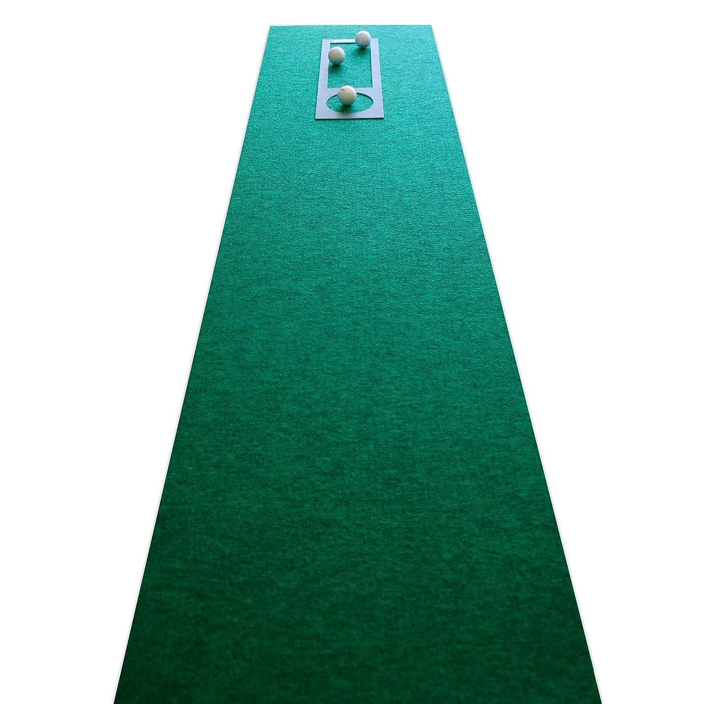 重要はちみつ犠牲パターマット工房PROゴルフショップ 45cm×5m EXPERT(距離感マスターカップ付き)
