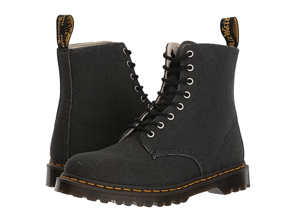 Dr. Martens Pascal (Black Millitary Heavy Canvas) Boots